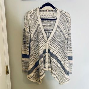 FREE PEOPLE Boho Cardigan-XS **F513**